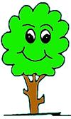 albero sorridente